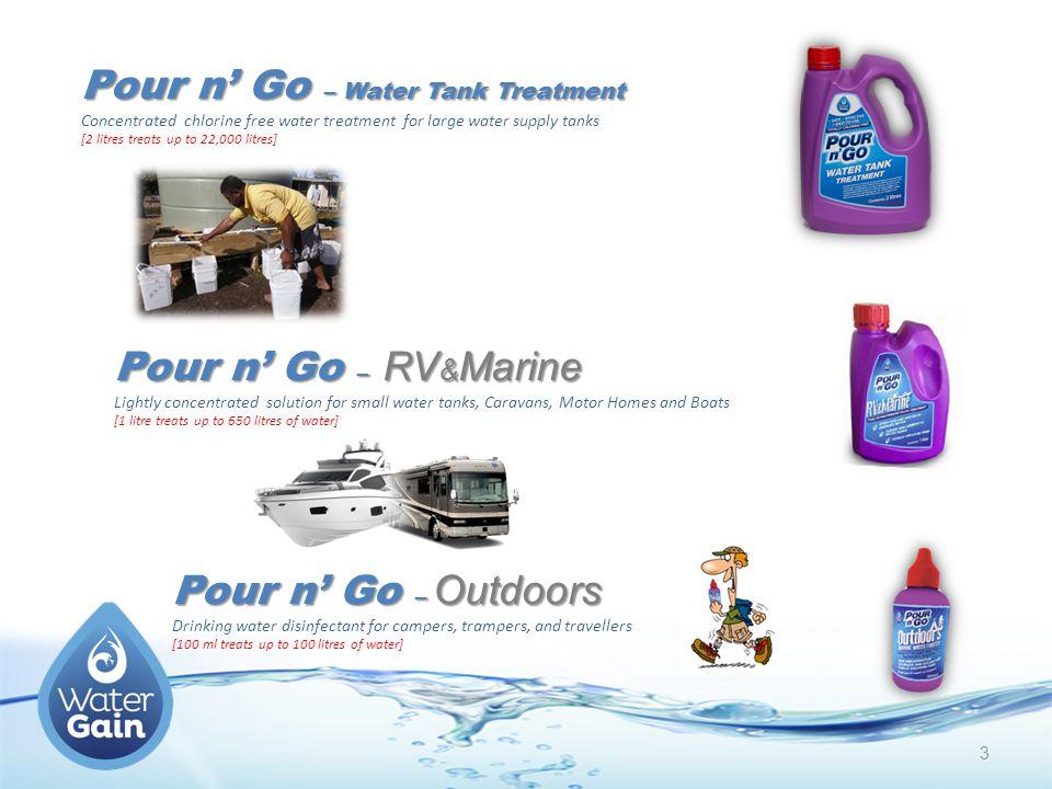 Pour n' Go – Water Tank Treatment