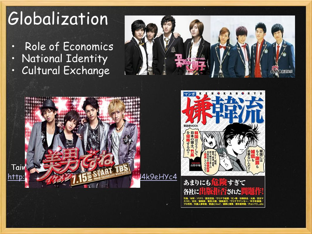 Globalization Role of Economics National Identity Cultural Exchange