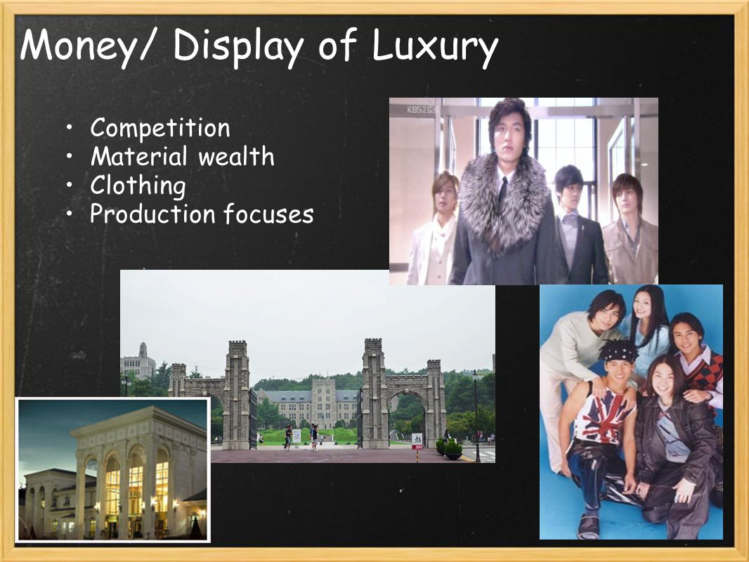 Money/ Display of Luxury