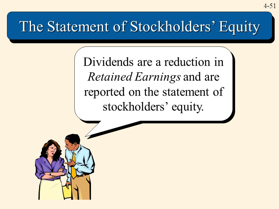 The Statement of Stockholders' Equity