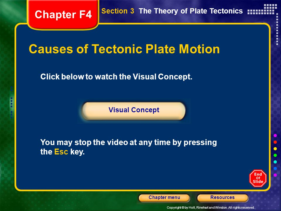 Causes of Tectonic Plate Motion