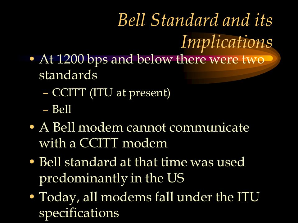 Bell Standard and its Implications