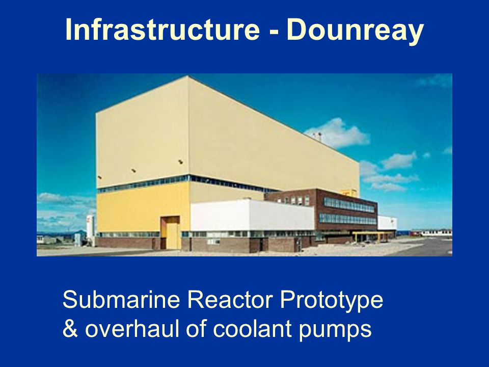 Infrastructure - Dounreay