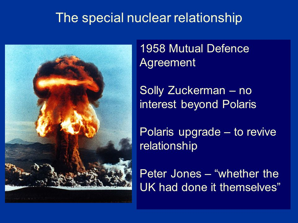 The special nuclear relationship