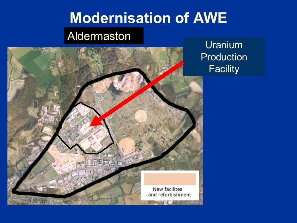 Uranium Production Facility