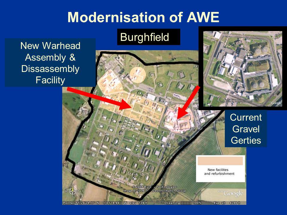 Modernisation of AWE Burghfield