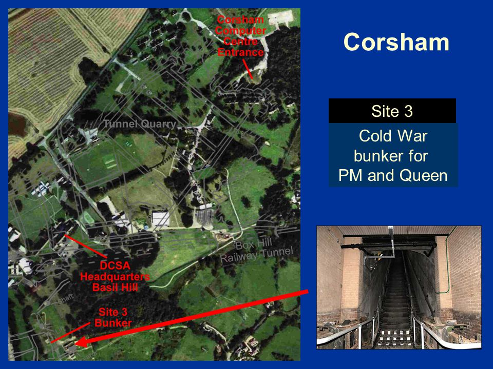 Cold War bunker for PM and Queen