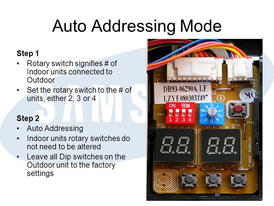 Auto Addressing Mode Step 1