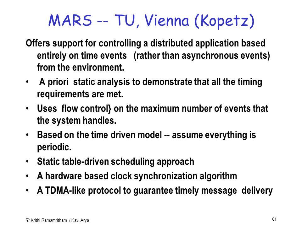 MARS -- TU, Vienna (Kopetz)