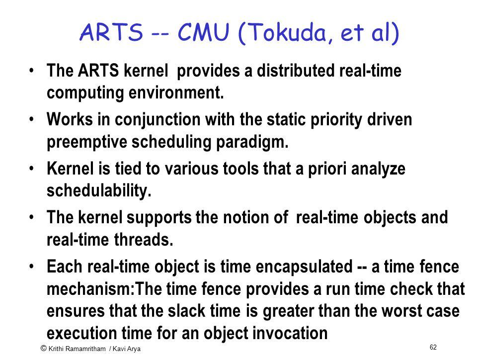 ARTS -- CMU (Tokuda, et al)