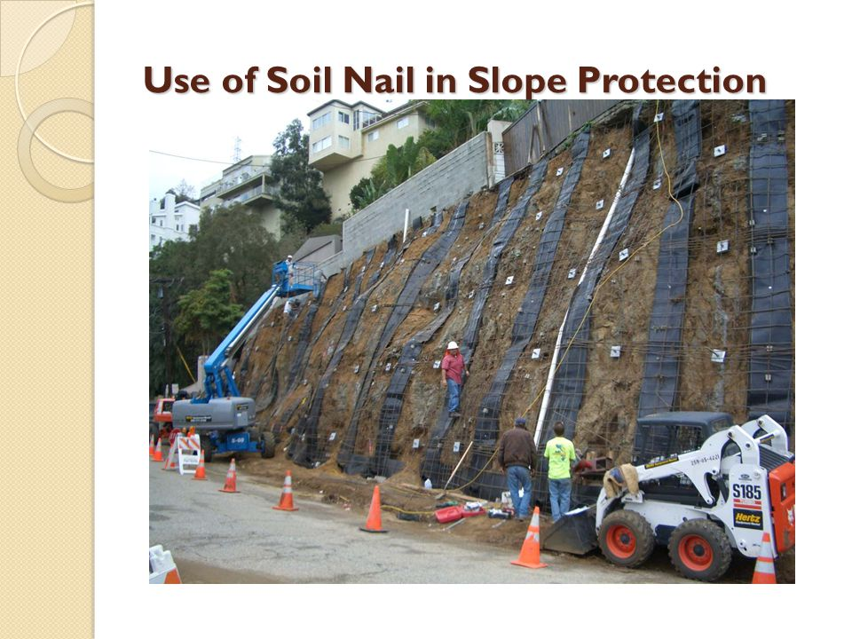 Rock slope engineering ppt video online download for Uses of soil