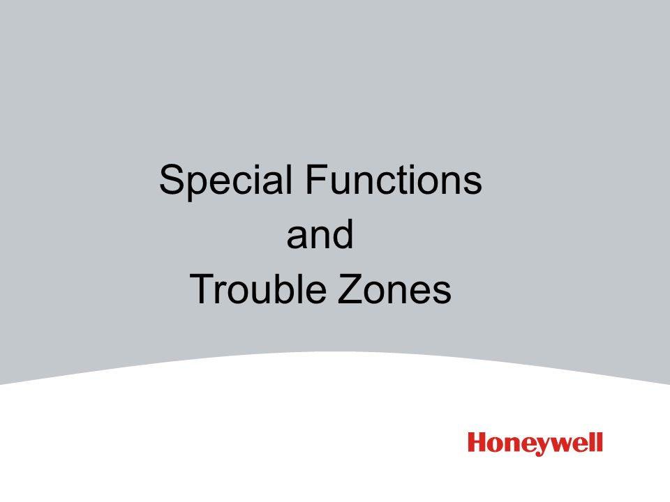 Special Functions and Trouble Zones