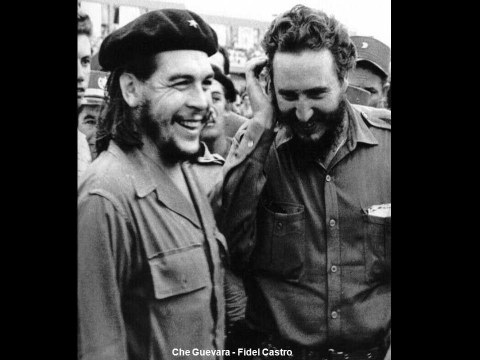 Che Guevara - Fidel Castro