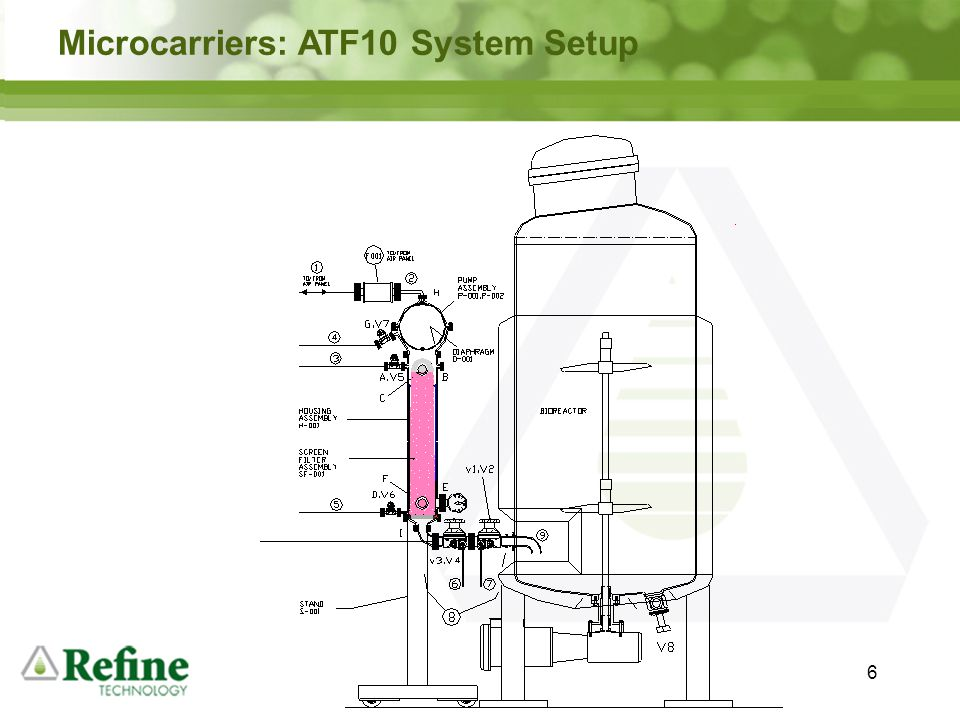 Microcarriers: ATF10 System Setup