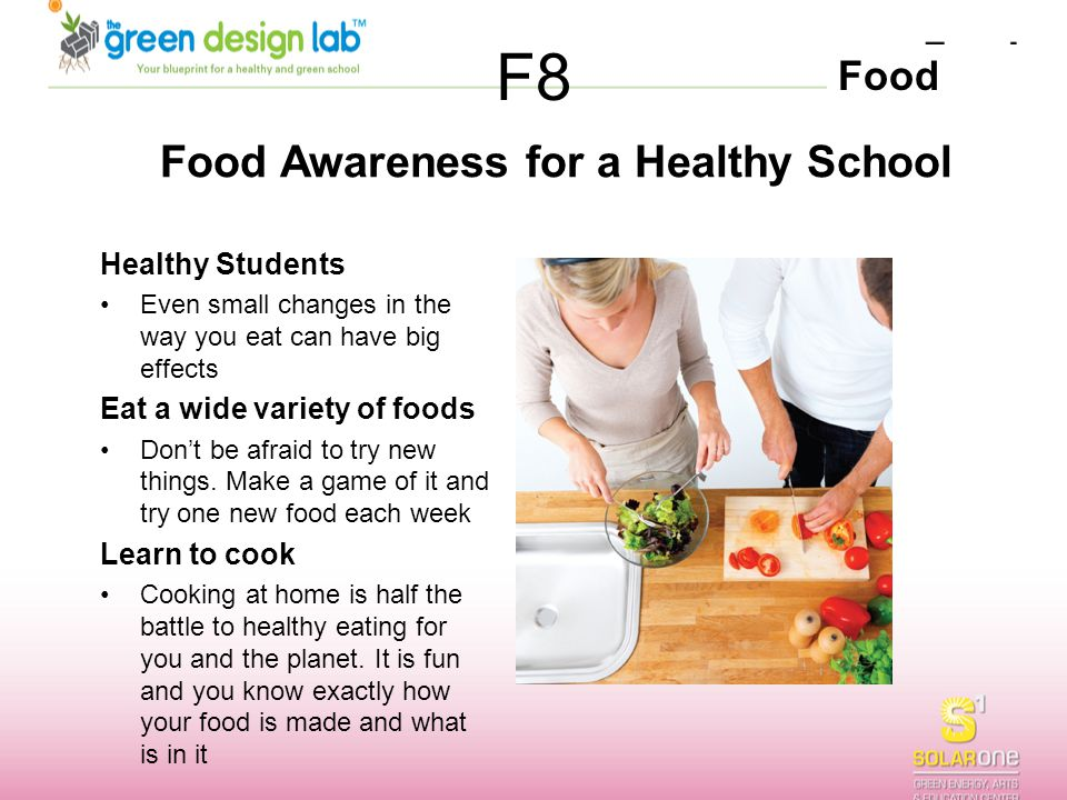Food Awareness for a Healthy School