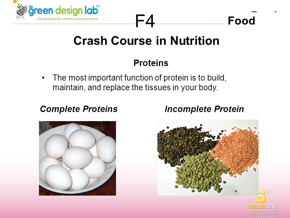 Crash Course in Nutrition
