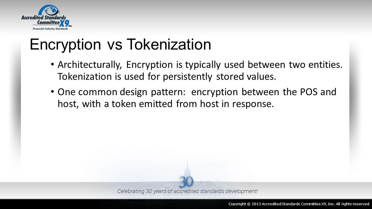 Encryption vs Tokenization