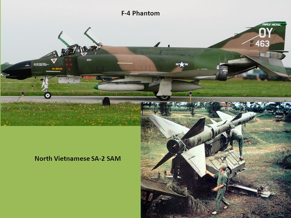 F-4 Phantom North Vietnamese SA-2 SAM
