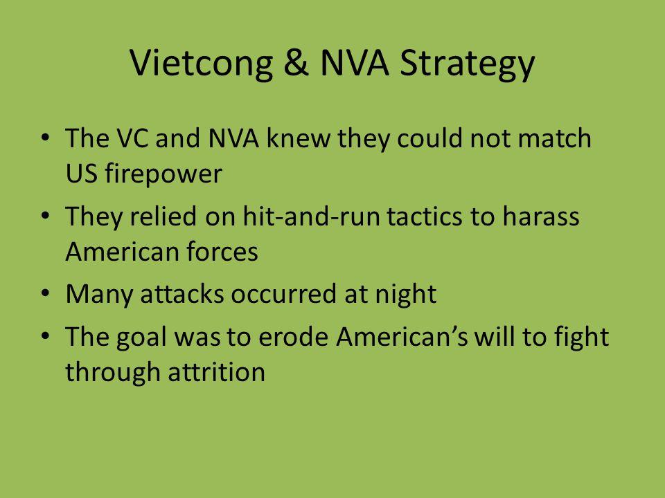 Vietcong & NVA Strategy
