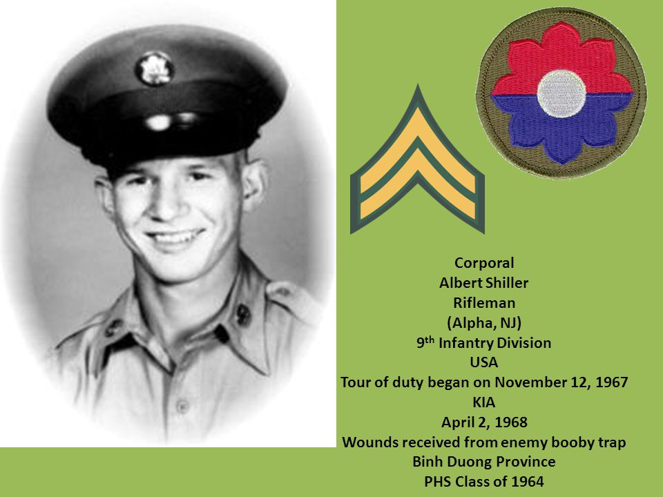 Tour of duty began on November 12, 1967 KIA April 2, 1968