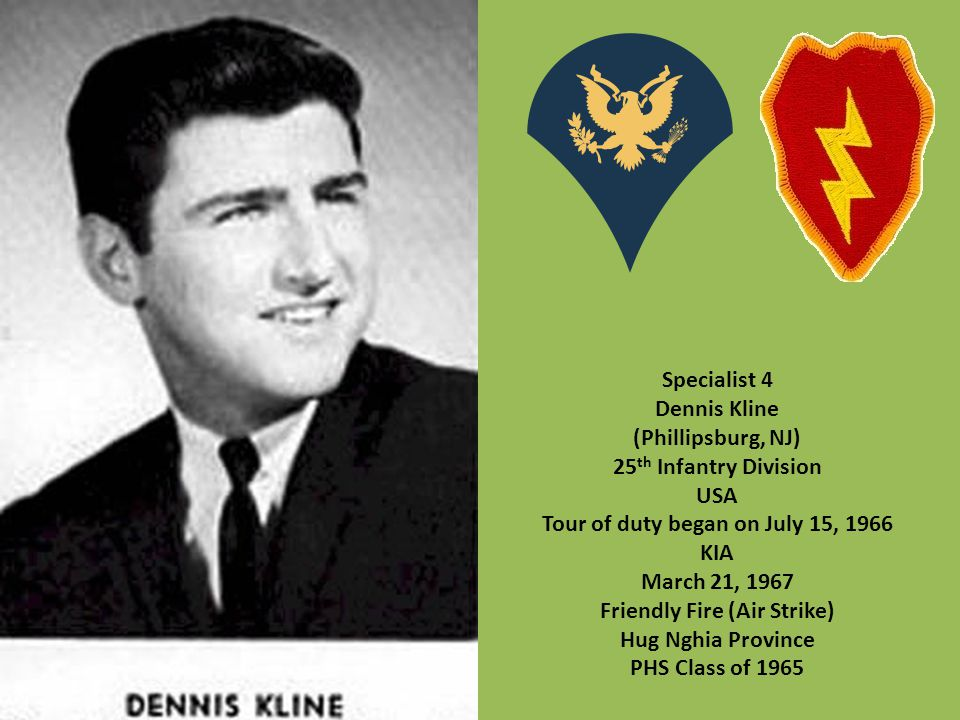 Tour of duty began on July 15, 1966 Friendly Fire (Air Strike)