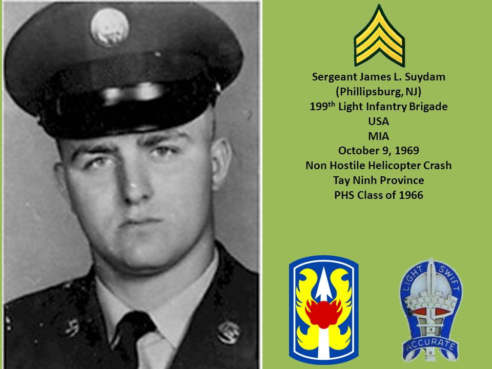 Sergeant James L. Suydam (Phillipsburg, NJ)