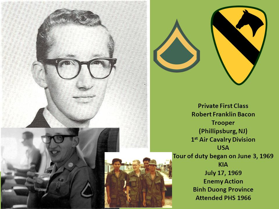 1st Air Cavalry Division Tour of duty began on June 3, 1969
