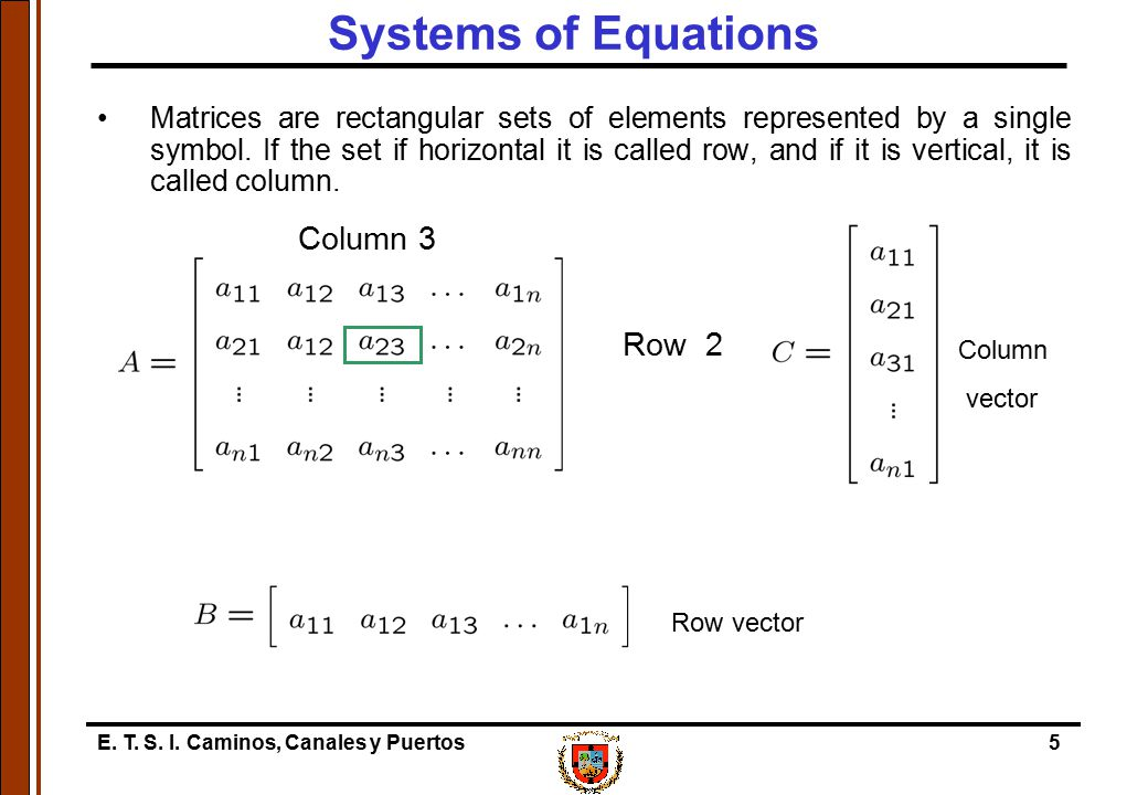 Systems of Equations Column 3 Row 2