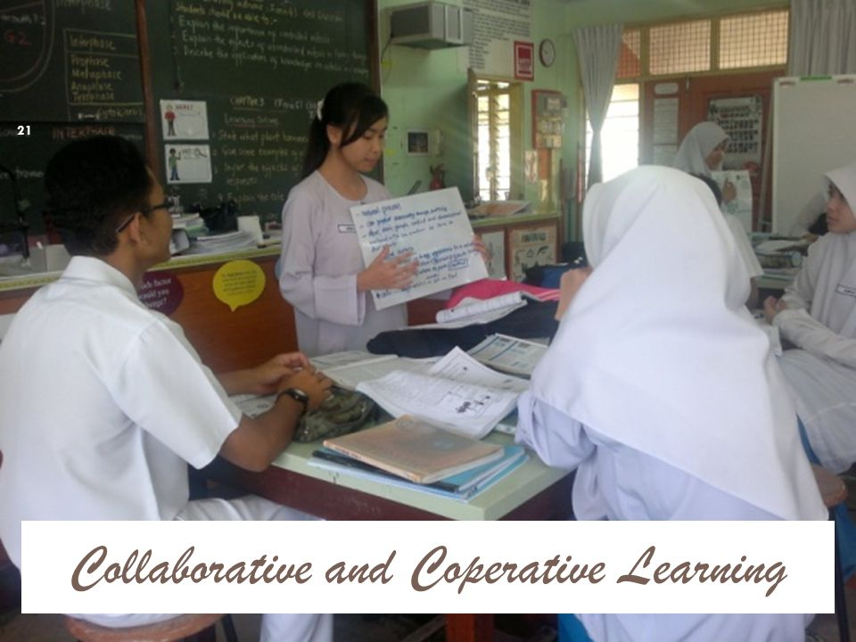 Collaborative and Coperative Learning