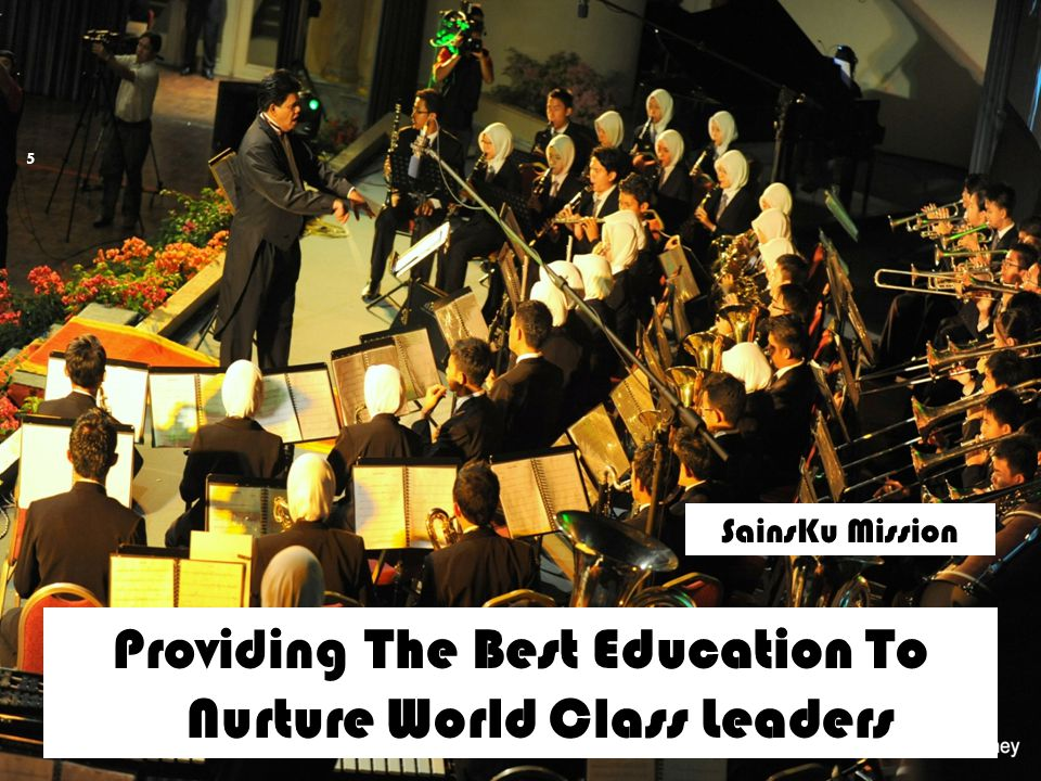 Providing The Best Education To Nurture World Class Leaders