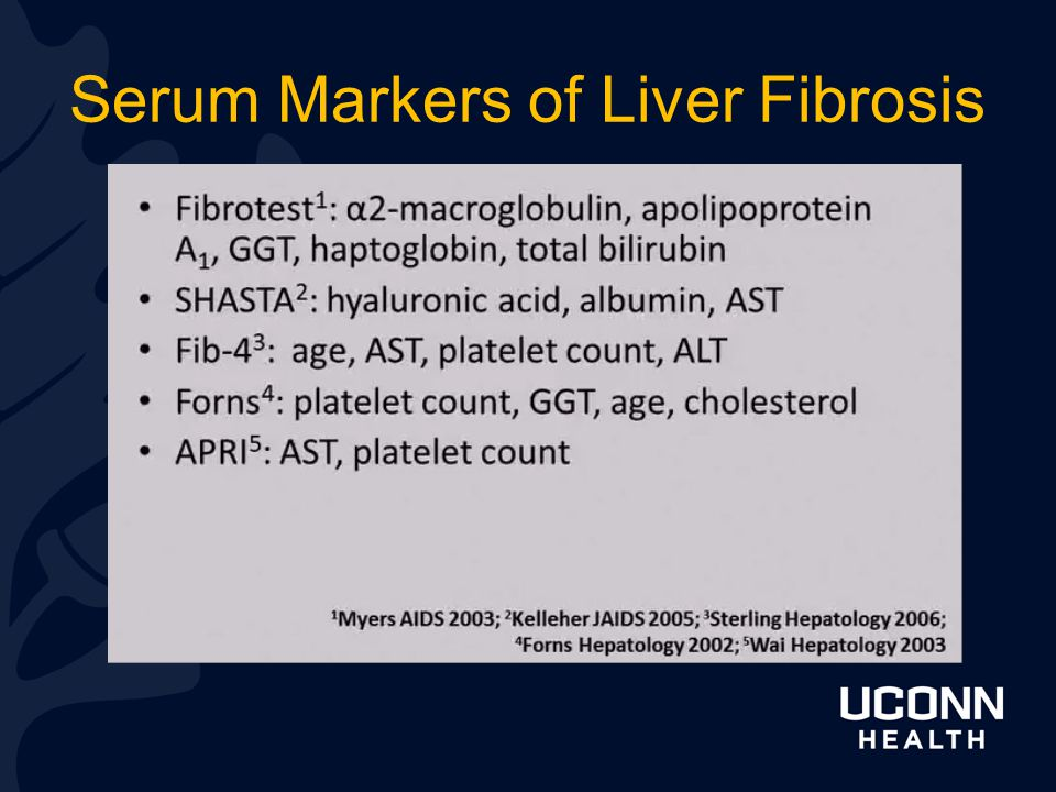 Serum Markers of Liver Fibrosis