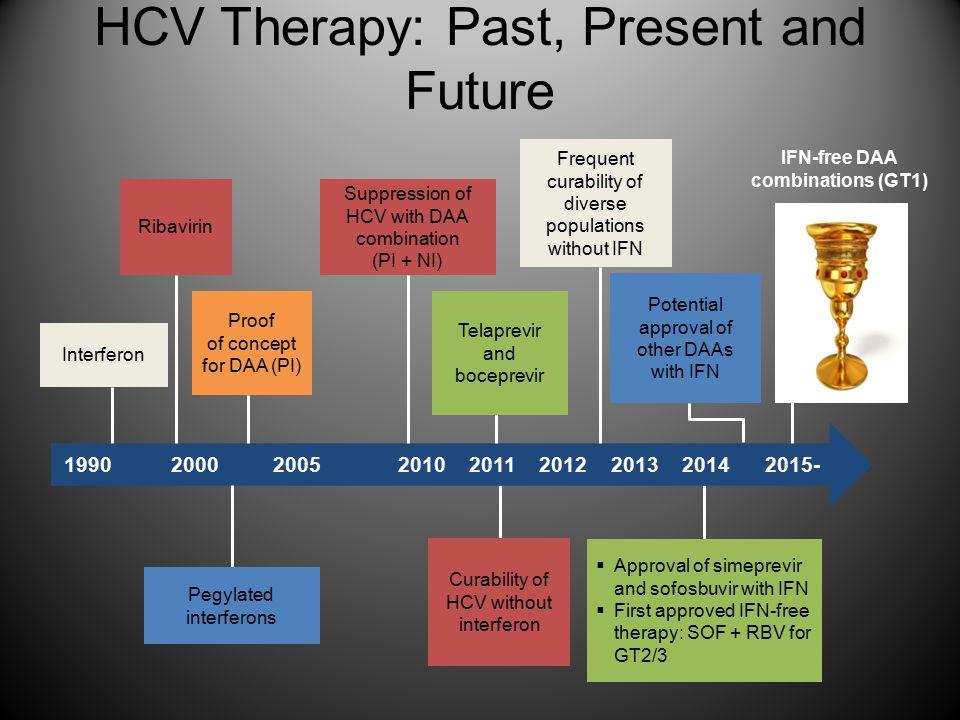 HCV Therapy: Past, Present and Future