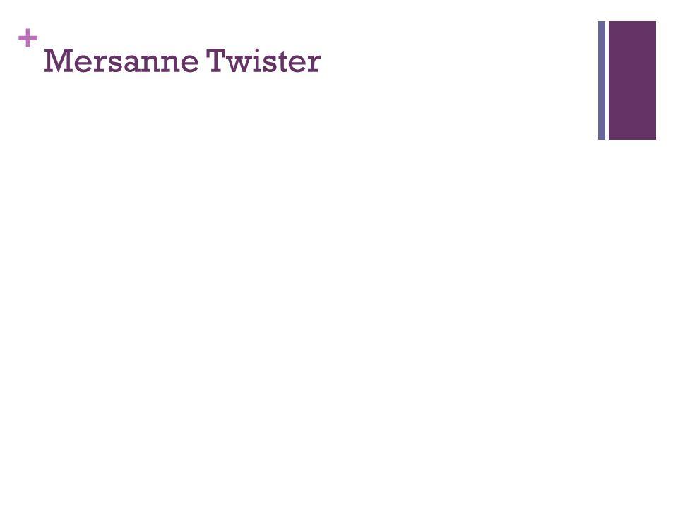 Mersanne Twister