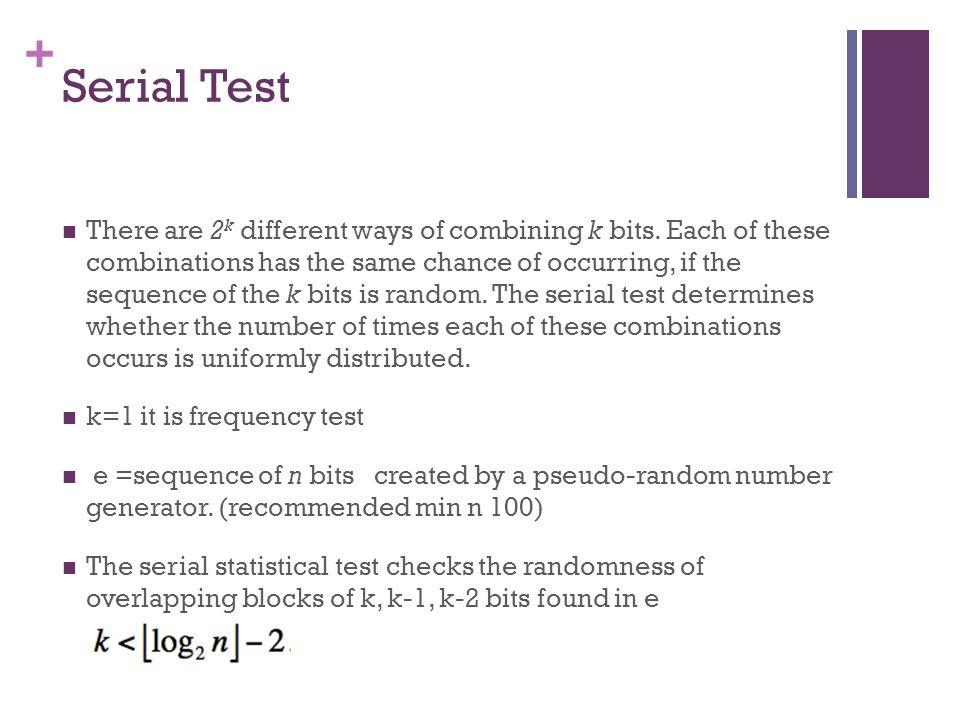 Serial Test