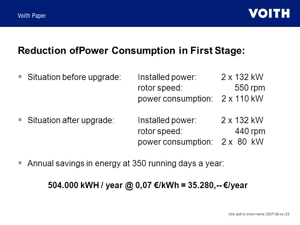 Reduction ofPower Consumption in First Stage: