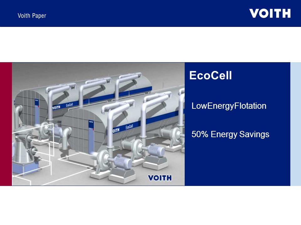 LowEnergyFlotation 50% Energy Savings