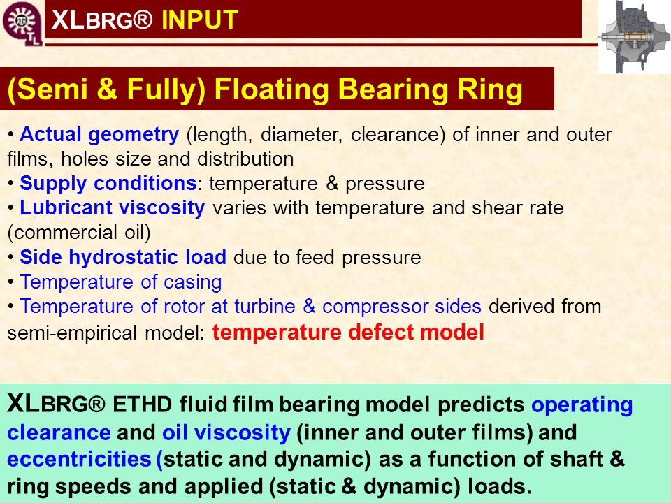 (Semi & Fully) Floating Bearing Ring