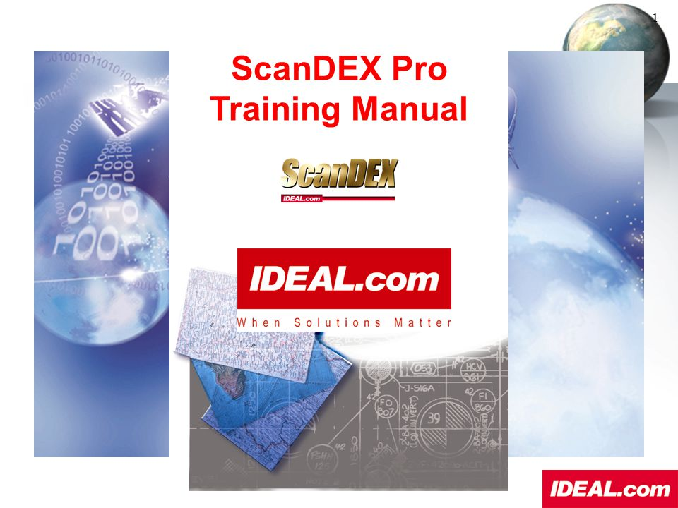 ScanDEX Pro Training Manual