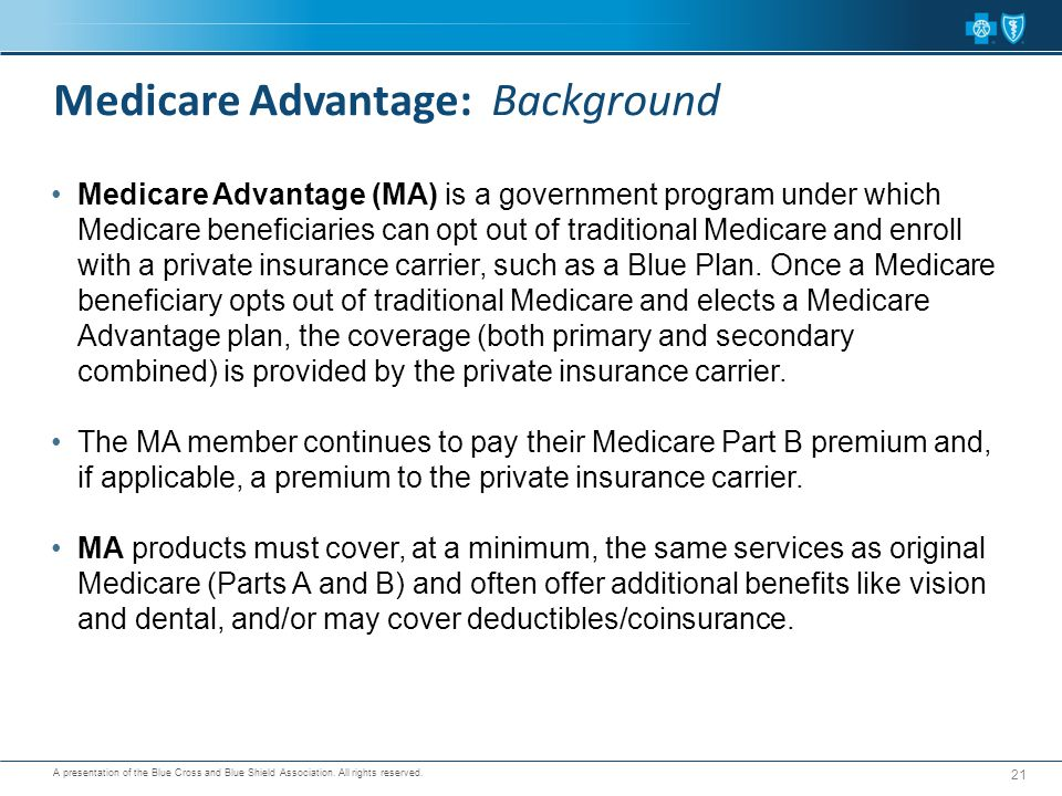 Medicare Advantage: Background