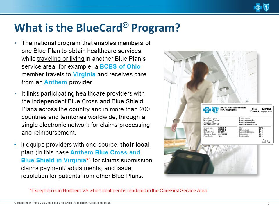 What is the BlueCard® Program
