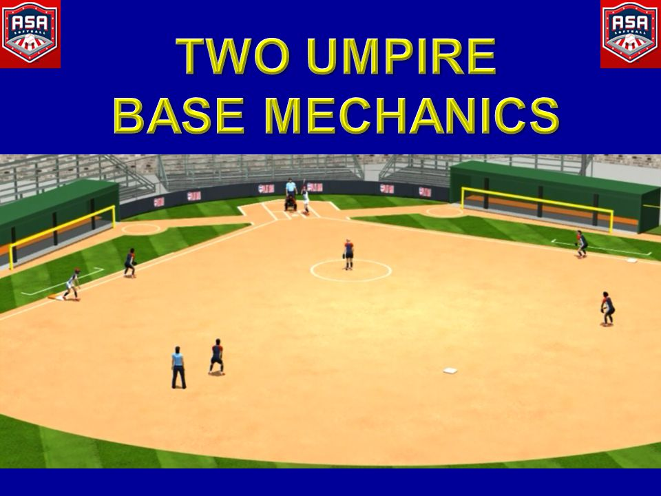 TWO UMPIRE BASE MECHANICS