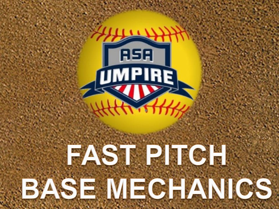 FAST PITCH BASE MECHANICS
