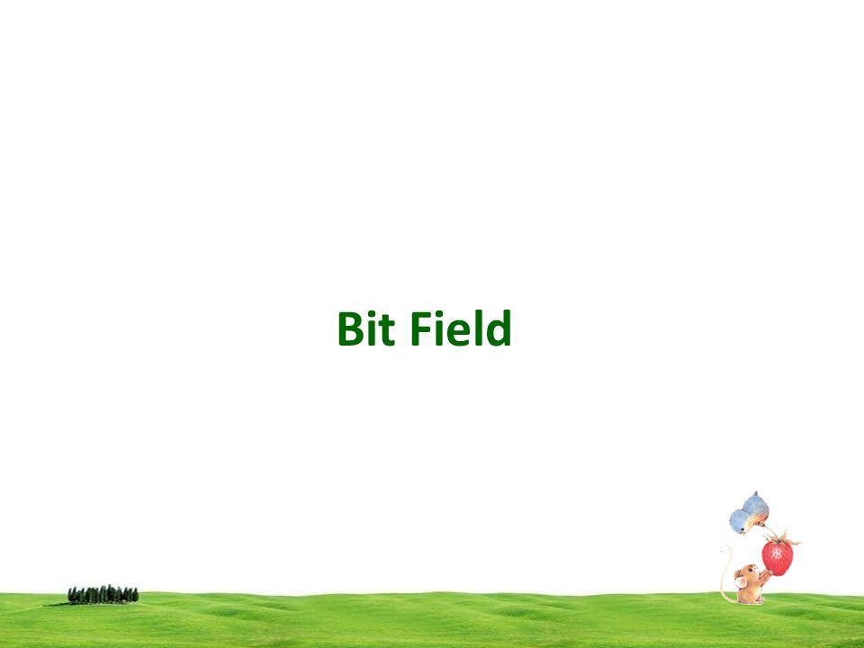 Bit Field
