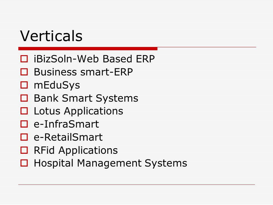 Verticals iBizSoln-Web Based ERP Business smart-ERP mEduSys