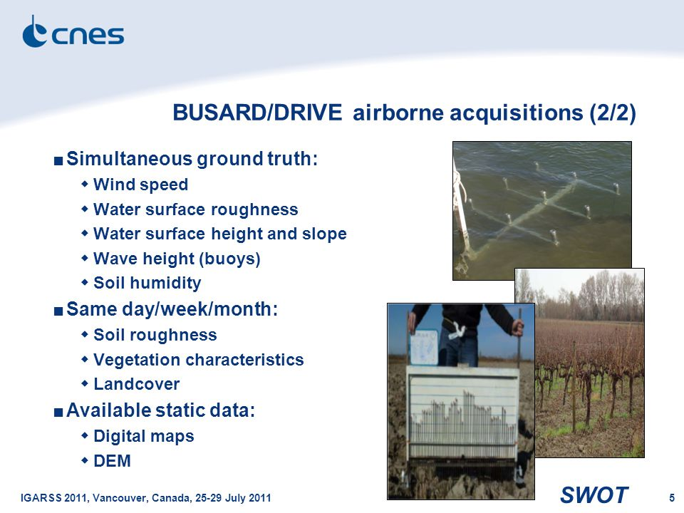 BUSARD/DRIVE airborne acquisitions (2/2)