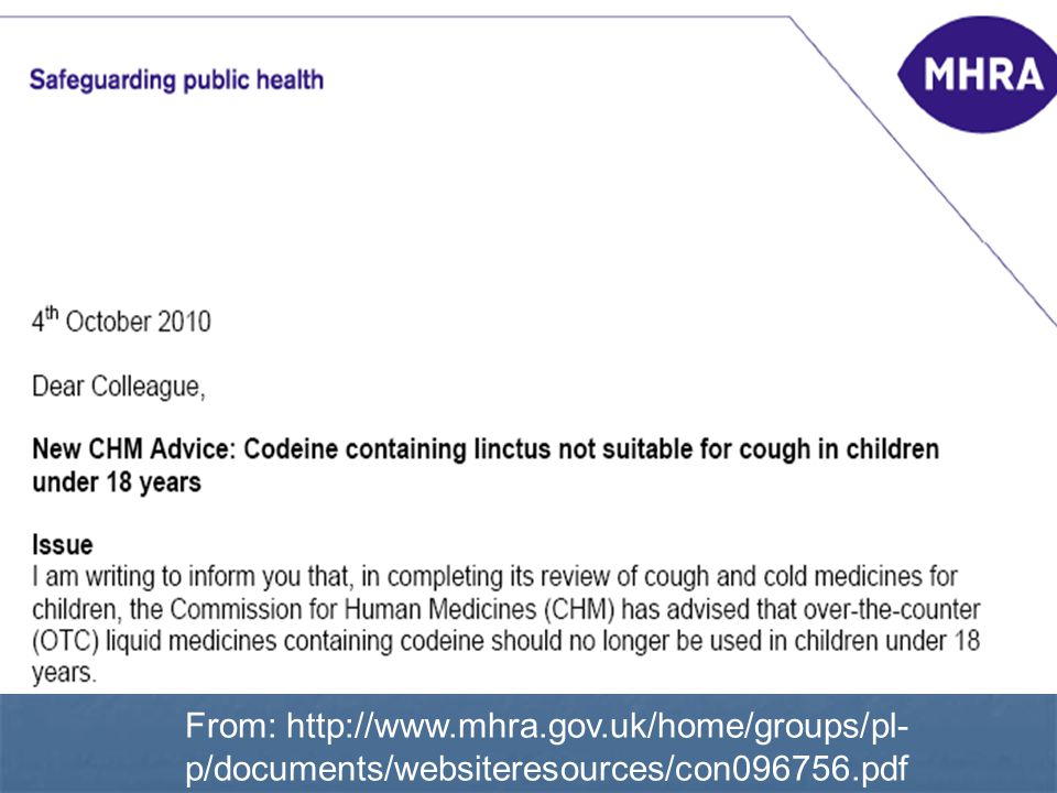 From: http://www. mhra. gov