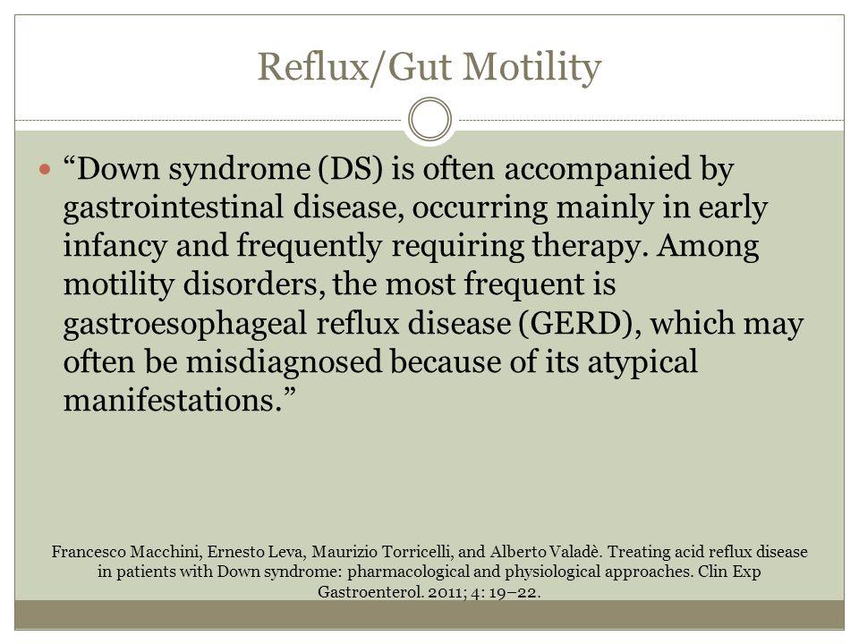 Reflux/Gut Motility