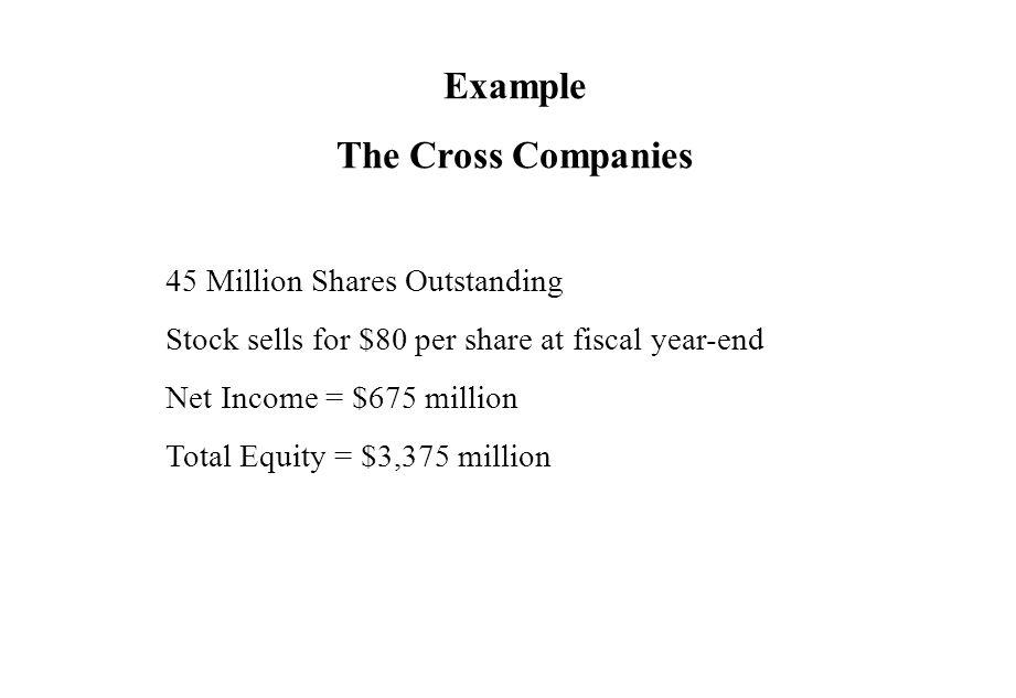 Example The Cross Companies