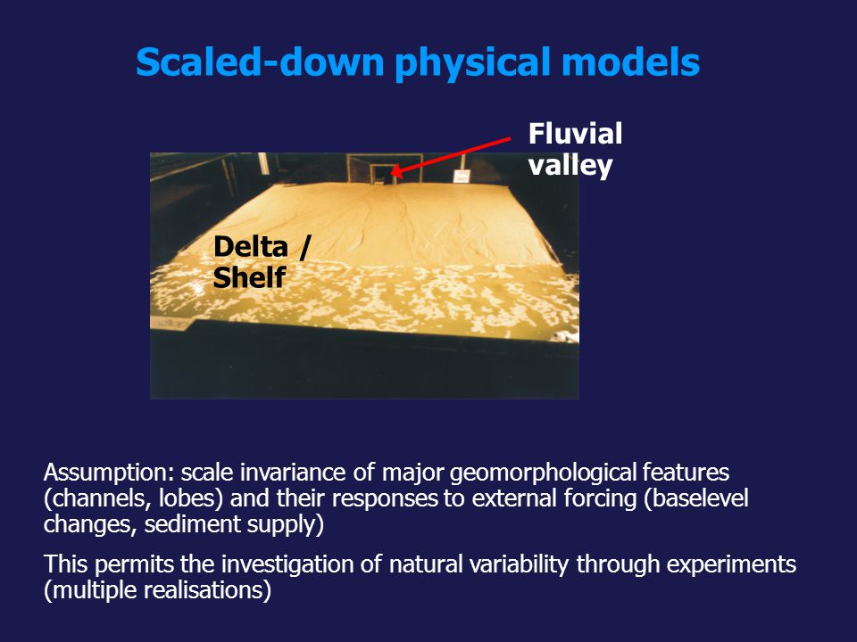 Scaled-down physical models
