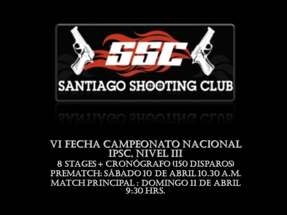 VI Fecha Campeonato Nacional IPSC, Nivel III